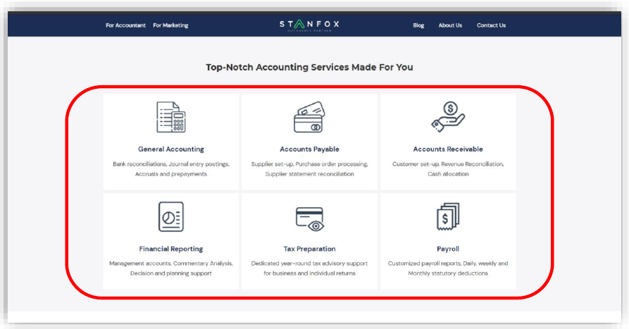 Top-Notch Accounting Services Made For You